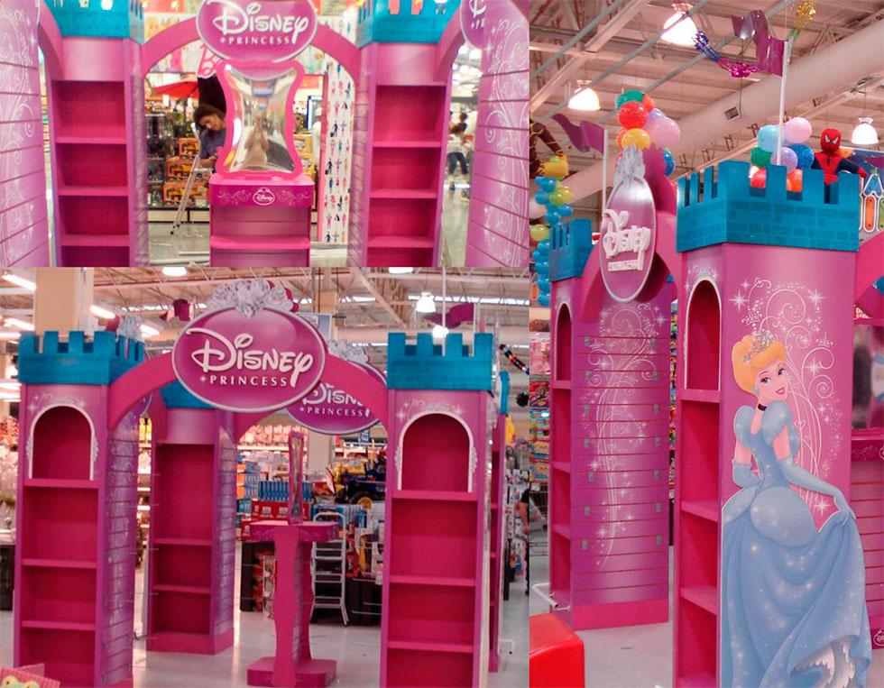 Muebles de princesas disney cama infantil princesas - Muebles de princesas ...