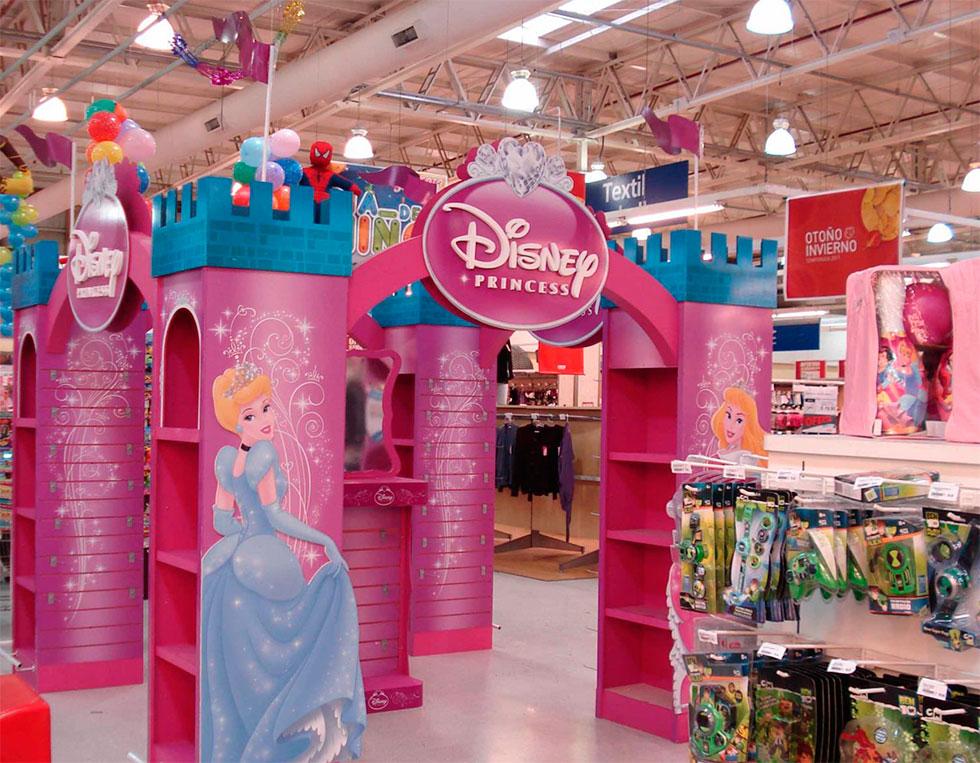 Muebles de princesas disney casa tres pisos barbie - Muebles de princesas ...